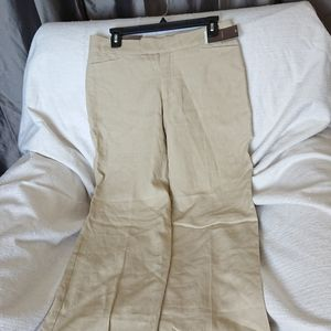 100% linen pants new womens 4